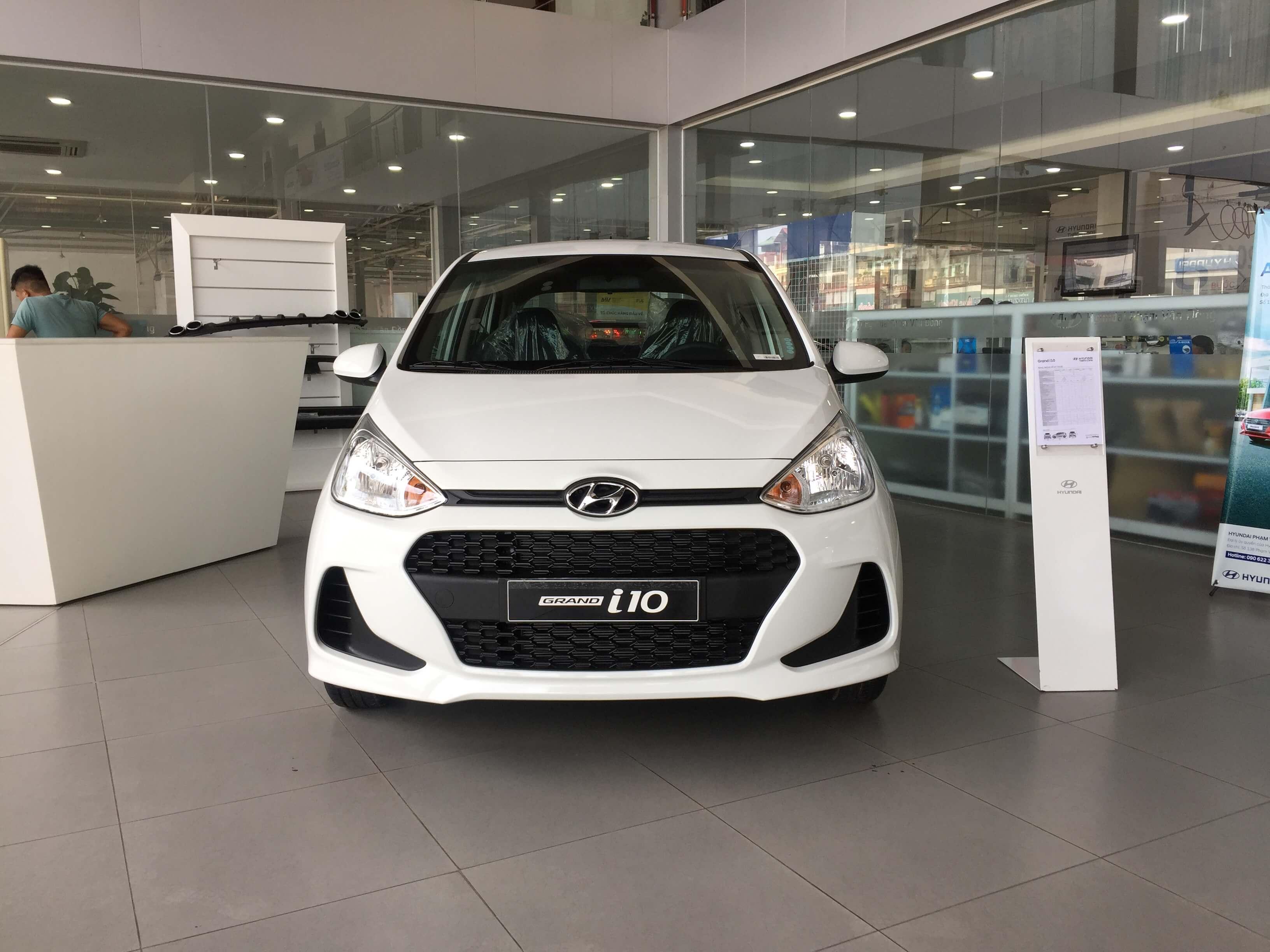Báo giá xe Hyundai Grand i10 1.2 MT Base mới nhất 2019