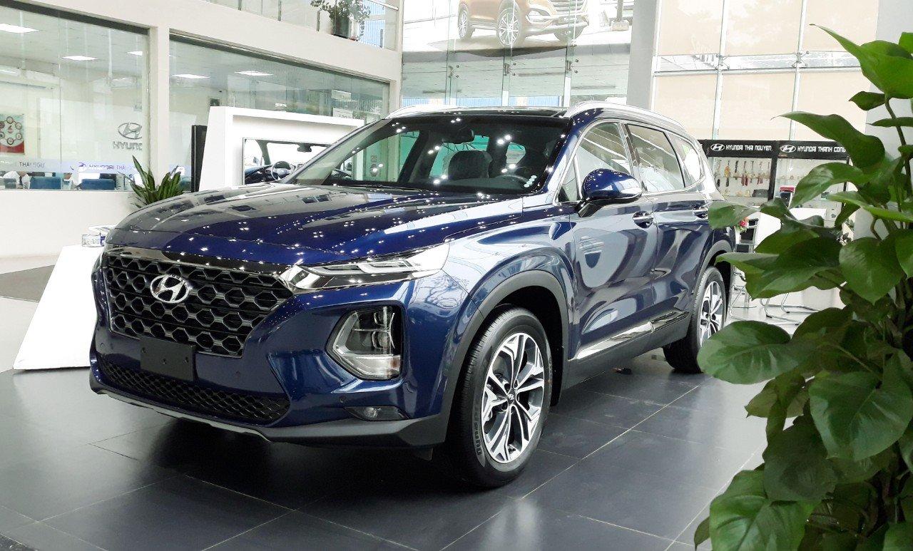 Hyundai Santafe 2.4 xăng cao cấp (1)