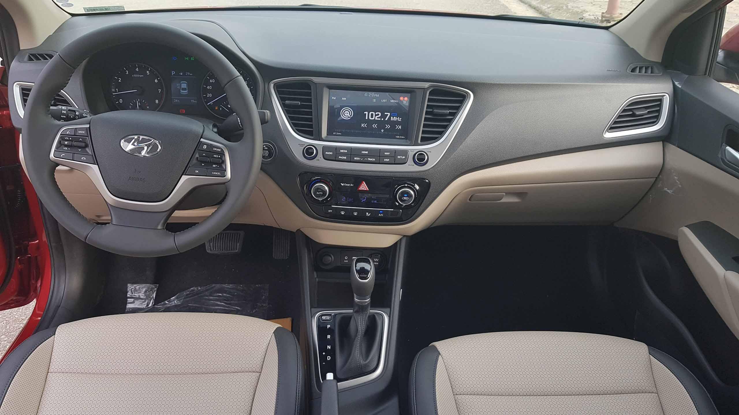 Báo giá Hyundai Accent 1.4 AT bản tiêu chuẩn mới nhất 2019