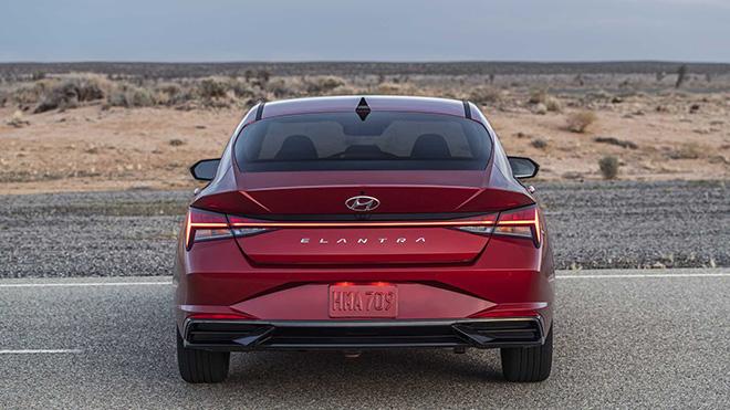 Hyundai Elantra 2021 chinh thuc ra mat thi truong toan cau 4