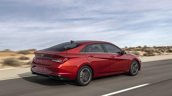 Hyundai Elantra 2021 chinh thuc ra mat thi truong toan cau 5