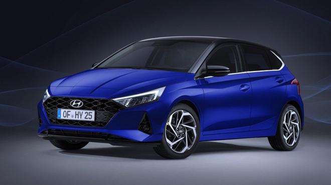 Hyundai i20 lo anh truoc them trien lam xe Geneva Motor Show
